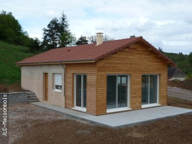 Jlc maison bois agrandissement for Cout extension maison 40m2